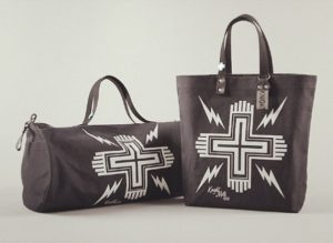 Special colour way of Cross' tote and duffel.