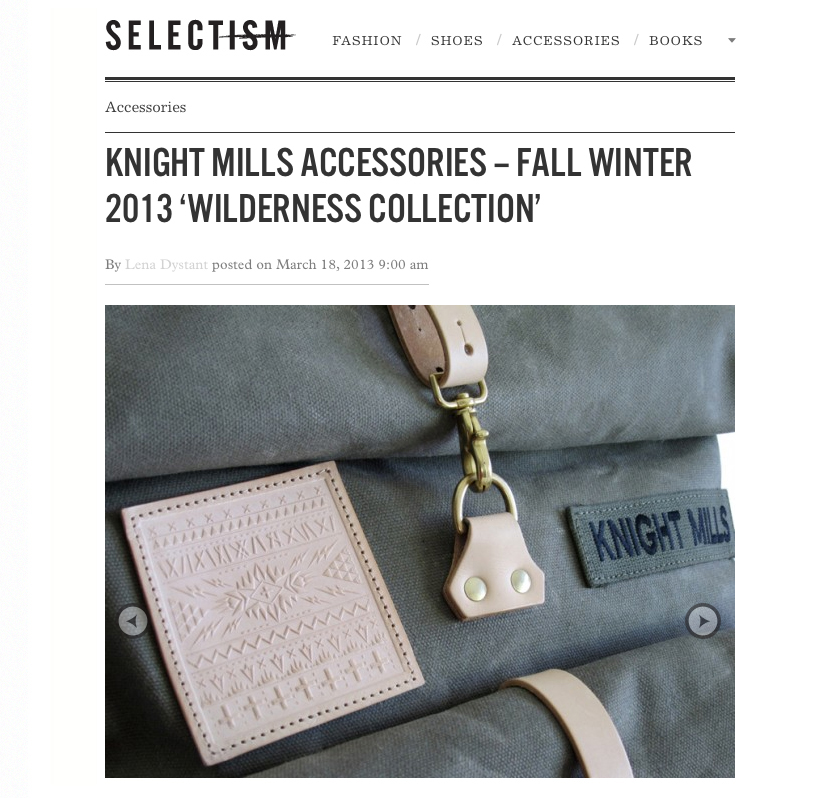 Selectism featuring the Wilderness collection