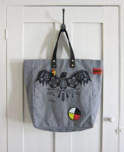 Elemental Crow' tote.