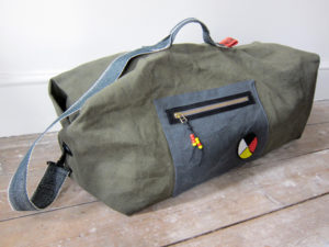 Reworked kit bag map pocket.