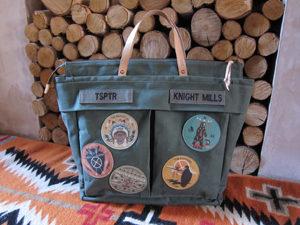 Old Ironsides' bag
