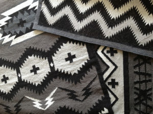 Pilot' Captain' and Zig Zagger' rugs.