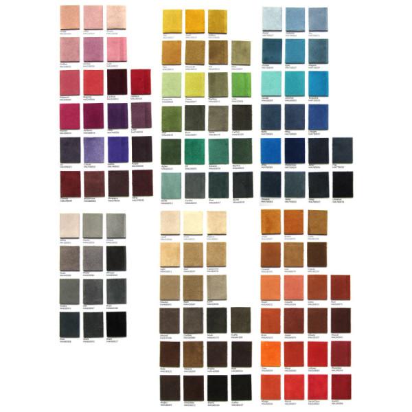 120 suede colours