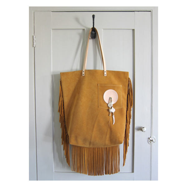 Hunter Gatherer with tassels in Ochre