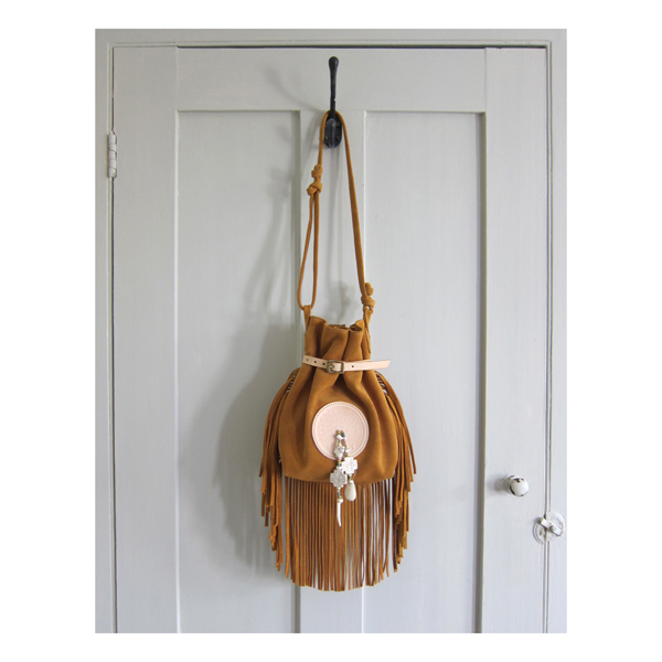 Medicine bag in Ochre
