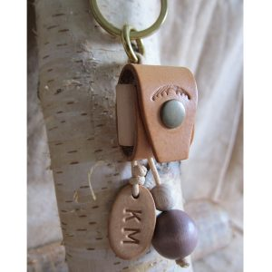 Coin keeper' key ring