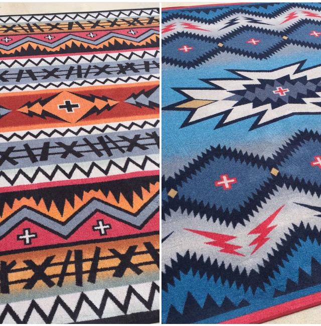 Captain' + Pilot' rugs 8ft x 11ft